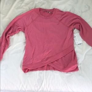 Pink Athleta sweatshirt